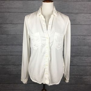 Anthropologie Cloth & Stone Lilith Button Up Sz XL